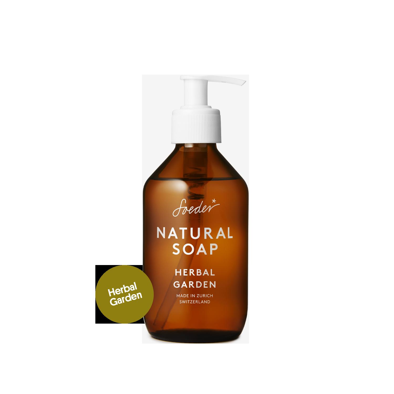 Natural Soap – Herbal Garden 250 ml von soeder*