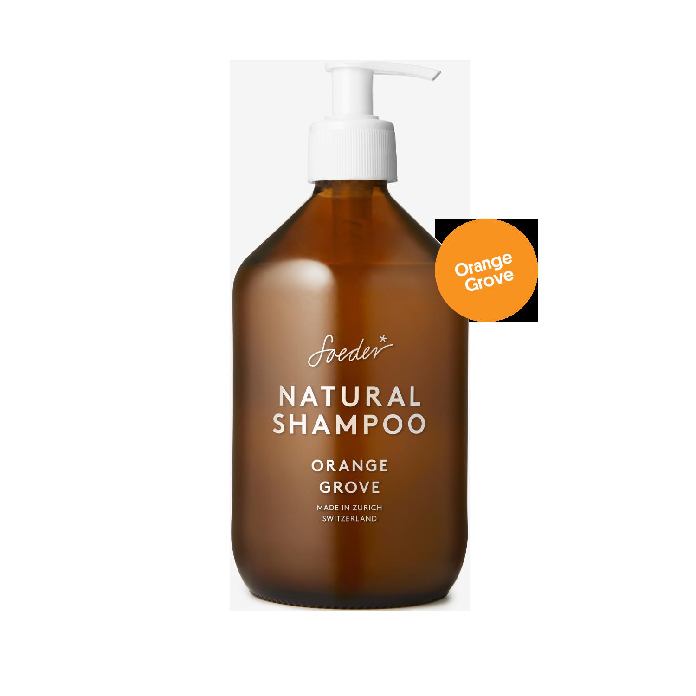 Natural Shampoo – Orange Grove 500 ml von soeder*