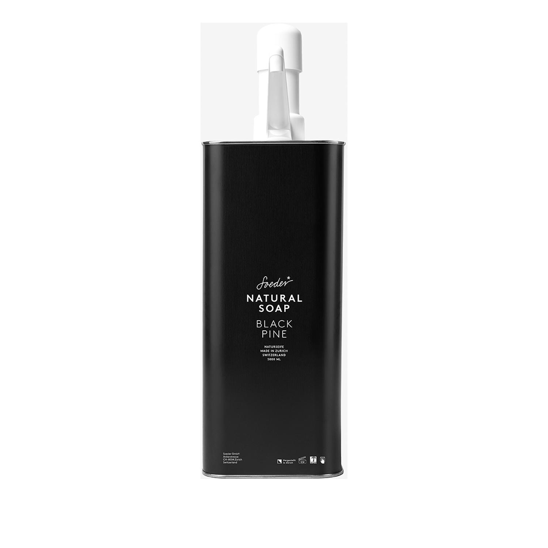 Refill Seife Black Pine  von Soeder* –5 Liter