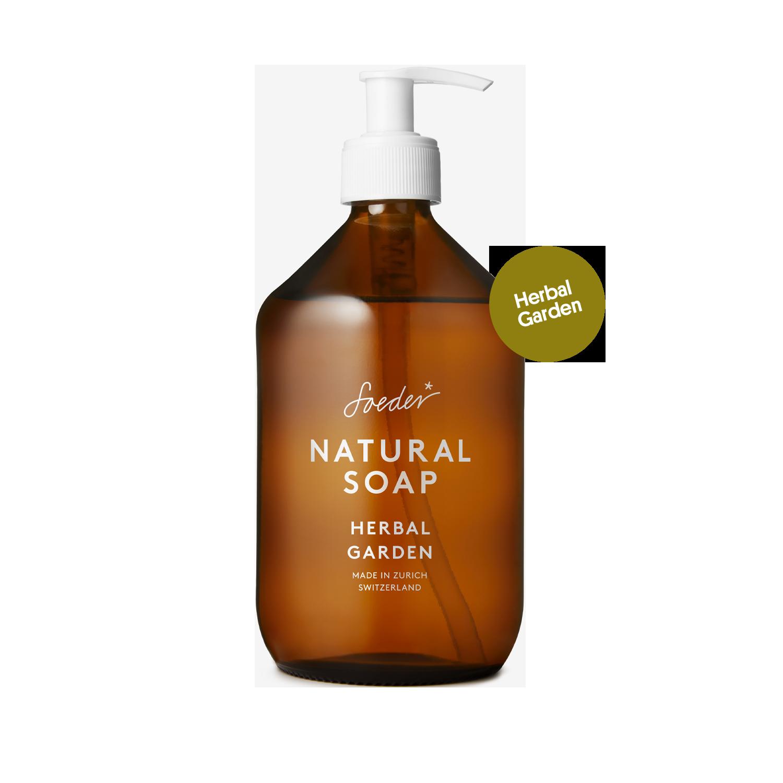 Natural Soap – Herbal Garden 500 ml von soeder*