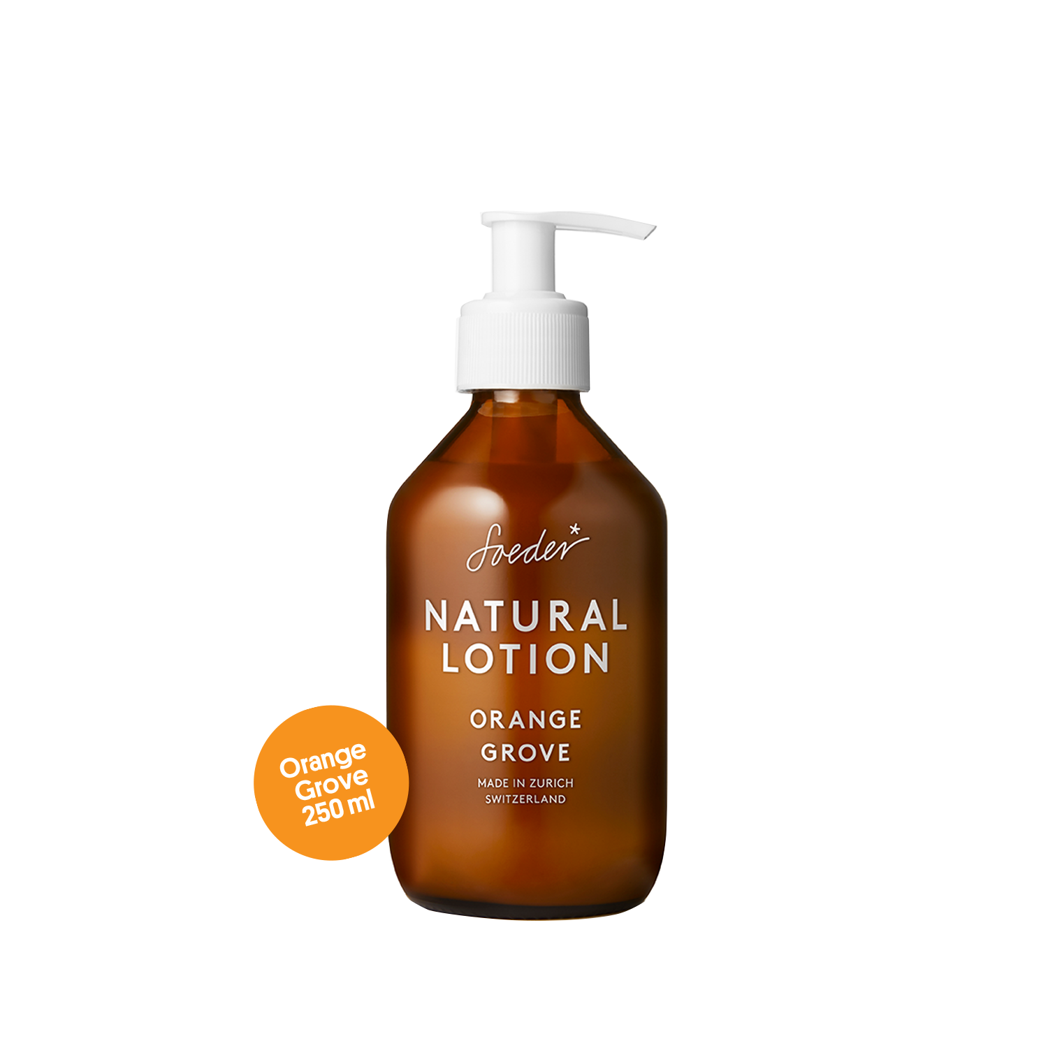 Natural Lotion – Orange Grove 250 ml von soeder*