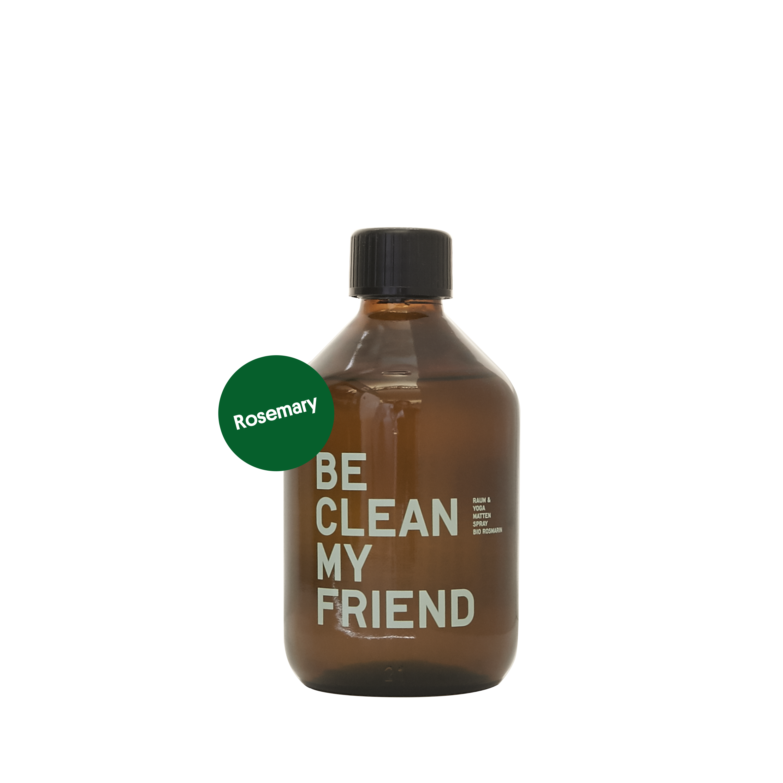 Yoga Mat Cleaning Spray – Rosemary-Peach 300 ml von BE [...] MY FRIEND
