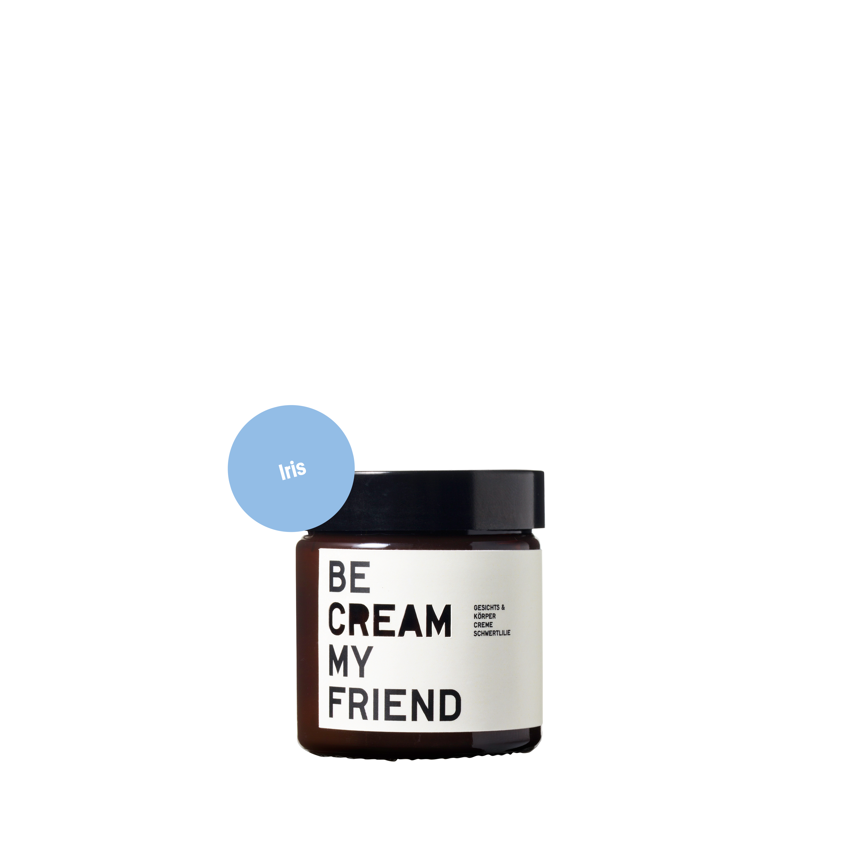 Gesichts- & Körpercreme – Schwertlilie 60 ml von BE [...] MY FRIEND