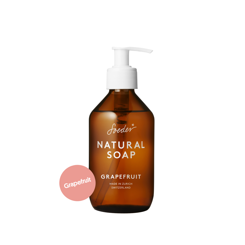 Natural Soap – Grapefruit 250 ml von soeder*