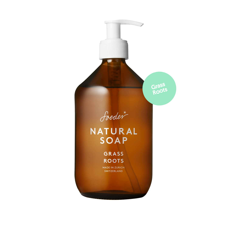 Natural Soap – Grass Roots 500 ml von soeder*