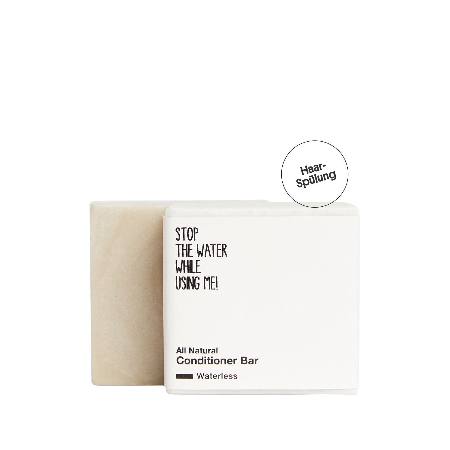 All Natural Conditioner Bar - Waterless Edition, 45 g